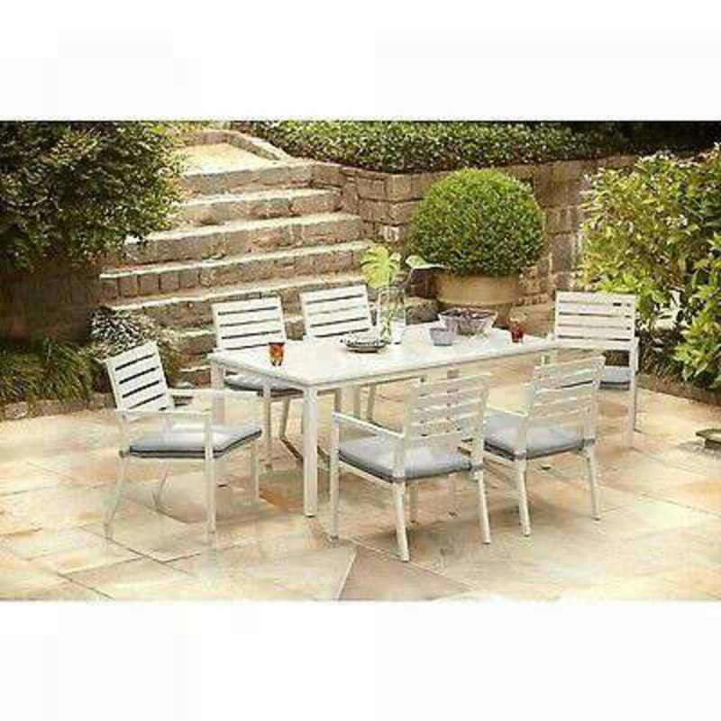 Brand New Hampton Bay Outdoor Dining Table For Sale In