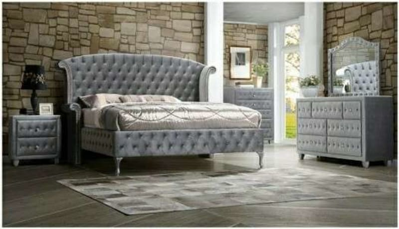 5pc King Upholstered Bedroom Set 40 Dn No Credit Check For Sale In Decatur Ga 5miles Buy