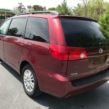 2008 toyota sienna limited for sale in jessup md 5miles buy and sell. Black Bedroom Furniture Sets. Home Design Ideas