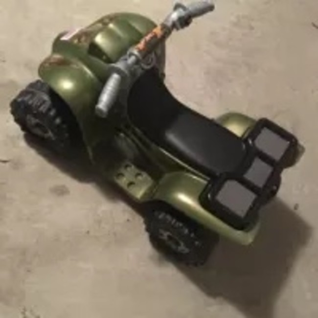 Fisher Price Power Wheels Camo Lil Quad For Sale In Fort