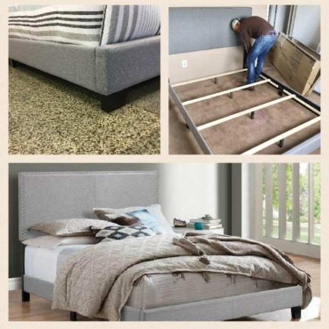 Bargain Deal Queen Bed Frame Foam Mattress Set For Sale In Houston Tx 5miles Buy And Sell